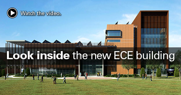 Look inside the new ECE building