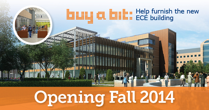 Buy a Bit: Help furnish the new ECE Building